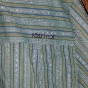 Marmot Shirts - Men's Marmot Button Down Short Sleeve Shirt